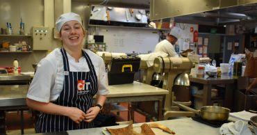 CIT student baking world-best baguettes for World Skills