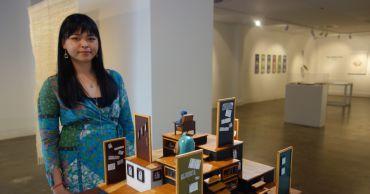 CIT student showcases miniature artwork