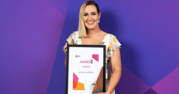 Changing paths led Amelia to ACT Trainee of the Year Award
