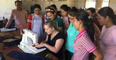 Teaching and learning: a fashionable journey to Cambodia
