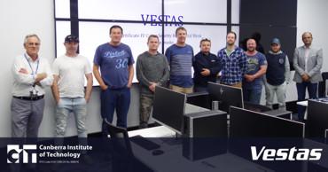 Vestas' turbine technicians upskill in cyber security