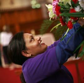 Geetha Wijewickrema - Floristry