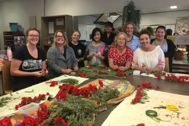 10 years of floristry support for the Australian War Memorial