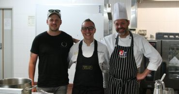 Celebrity chef pays a visit to CIT
