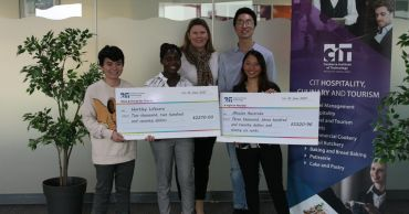 CIT students support local charities
